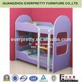 Chambre enfants ensembles de meubles bon marché, modèles de lits en bois pour les enfants, enfants lit superposé en bois