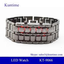 wholesale japan alibaba Faceless lava led digital watch nurse keychain watch