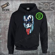 Kiss hoodies rock band hoodies custom cotton sweatshirts