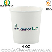 Custom Printed Paper Cups 4 oz, Lids Available
