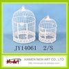 White color metal bird cages birdcage wedding favor box
