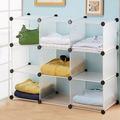 cubetti di plastica trasparente pieghevole 9 camera da letto ikea mensole con optional cubi
