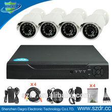 Hot Sale 4CH DVR Kit Support 4 PCs Waterproof Bullet Camera security camera kit