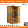 natural wooden hemlock with bluetooth wireless speaker for sauna