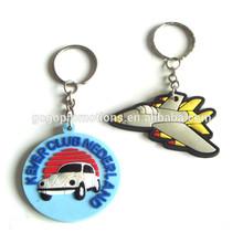 custom promotion soft rubber key chain,custom shape pvc keychain with ring,oval shape hot sell blank keyring