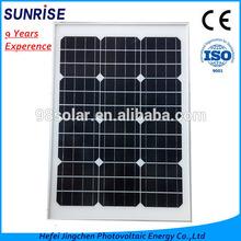 Monocrystalline 50W Solar Panel for Solar street light