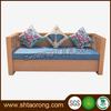 3 Seat Wood sofa , Living room sofa