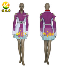 Japanese anime costumes Gundam Seed Destiny Stellar Louisser Military Uniform Halloween Party cosplay Costume for sale