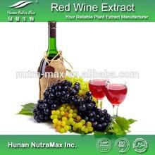 Food Grade Red Wine Powder/Red Wine P.E/Red Grape Wine Powder