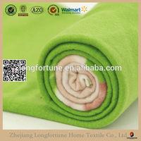 Custom printed cheap polar flannel fleece fabric