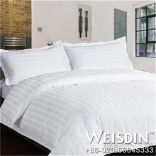 woven hot sale jacquard blue lucky bedding set
