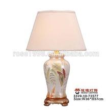 beauty porcelain lamp house wholesale