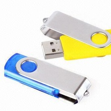 Hot selling swivel usb flash drive for Promotional Gift,usb pen drive with customized.