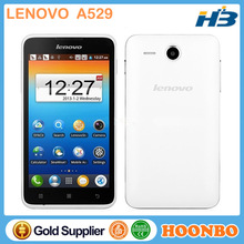 Low Price China Mobile Phone Original Lenovo A529 Smartphone Dual Core 1.3GHz 5.0 inch Android 2.3 Dual SIM Smart Phone