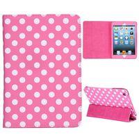 Elegant Pattern 3-folding Stand Leather Case for iPad Mini iPad Mini 2