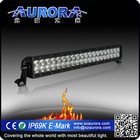 "20"" 200W Scratch resistant GE Lexan led bar light 12v automotive led light"