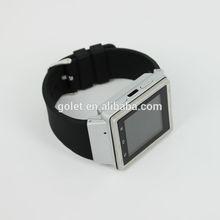 Shenzhen golet manufacturer waterproof watch phone 3g wifi hand watch mobile phone price,waterproof cell phone watch