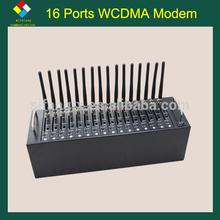 16 ports USB WCDMA modem HSDPA 3G MODEM