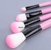 32 PCS pink makeup brushes Set with Make Up Kit Holder Bag