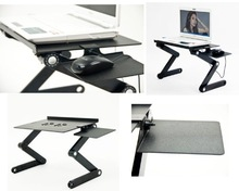 Portable popular custom made computer desk with folding legs