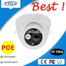 2 Megapixel Standard POE IR Dome HD 1080P IP Camera