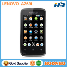 Mobile Phone Unlocking Software Lenovo A269i Quad Band Mobile Phone Small Size Mobile Phones 3.5 inch Android 3G