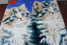 SHAOXING KEQIAO cat brother polar fleece fabric