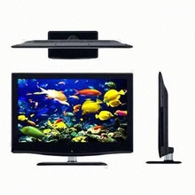 Crystal exaquisite design high clear touch screen lcd led tv with wireless keyboard tv cabinet led
