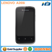 Wholesale Original Lenovo A269i New Slim Mobile Phone 3.5 inch Original Android Dual SIM Card Dual Standby Smartphone