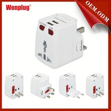 2015 Hot sell different plug type adapter
