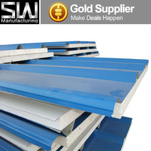 EPS Polystyrene Sandwich Panels Type and Metal Panel Material sandwich board for roof