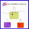 fashion beach bag clear silicone bags popular bag