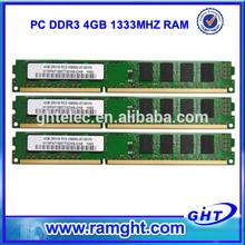 surplus stock lots lifetime warranty memoria ram ddr3 4gb for desktop