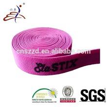 Custom Brushed Nylon Jacquard Elastic Strap