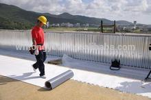 PVC/TPO Heat Resistant Waterproofing Roof Membrane