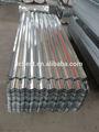 Metal revestidas de zinco onda azulejotecto, aço galvanizado ondulado folha da telhadura