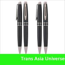 Hot Sale Custom cheap logo black gold pen
