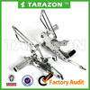 TARAZON brand 6065 T6 adjustable rearsets for motorcycle
