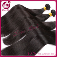 Stock fast delivery brazilian hair weave, 100% brazilian human hair 20 inch hair4pcs one pack