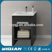 Knock Down Furniture Small Corner Bathroom Vanity Storage