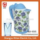 360 Degrees rotating base home appliance/enamel kettle/ceramic kettle