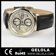 Alibaba china hotsell red mechanical watch 2014