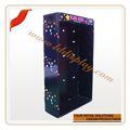 personalizar claro parede cd dvd cremalheira de exposição acrílica livro display wall