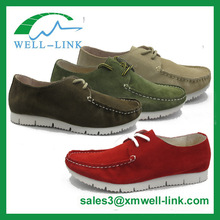 wallabee geniune leather men loafer shoes
