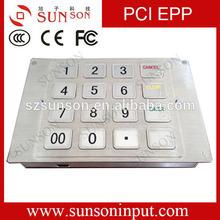 PCI EPP,ATM keypad,Kiosk pin pad