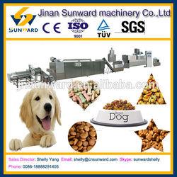 High efficiency big output dog food extruder, dog food machine