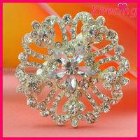 Wedding invitation rhinestone brooch pins WBR-1499