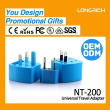 OEM&ODM products spain conversion travel adapter,promotional items plastic world adaptor