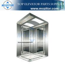 Elevator cabin decoration|Passenger lift|Elevator Cabin MZT-CB-150|prefab steel lift frame cabin
