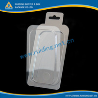 transparent heat sealed clamshell blister packaging box for keyboard